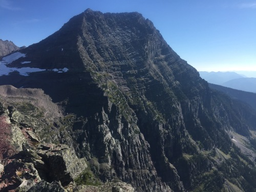 From the summit of little Matterhorn.